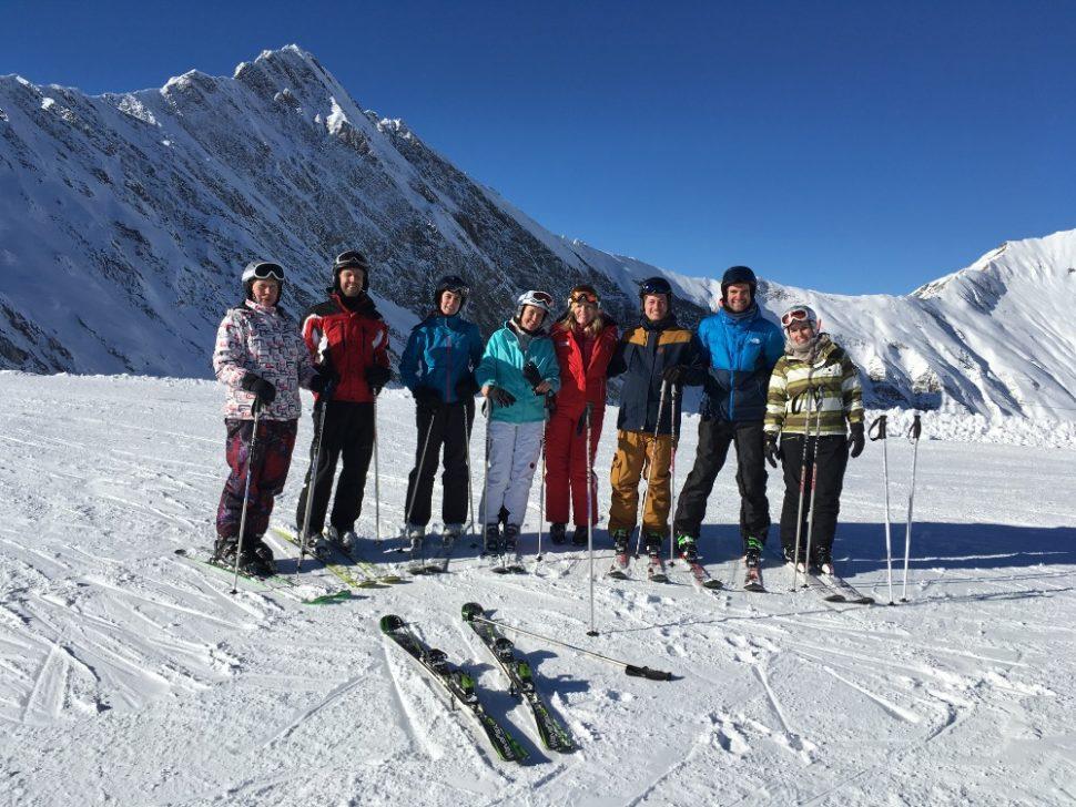 Markéta Záleská v Alpách